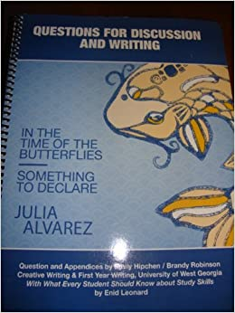 In the time of the butterflies essay