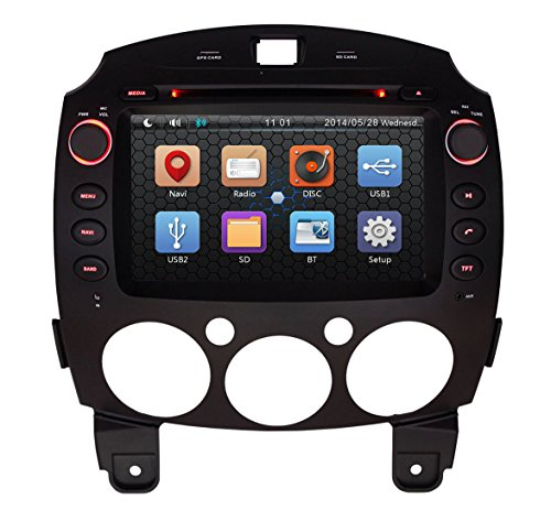Touch Screen Car Stereo With Gps And Bluetooth