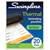 Swingline Thermal Laminating Pouch, Letter Size, Standard Thickness, 20/Pack (3202021)