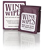 Wine Wipes - 2 Boxes of 12 Individual Wipes