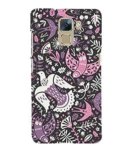 EPICCASE phoenix Mobile Back Case Cover For Huawei Honor 7 (Designer Case)