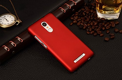 best sneakers b7dde b3d82 WOW Imagine™ Rubberised Matte Hard Case Back Cover For XIAOMI MI REDMI NOTE  3 - Maroon Wine Red
