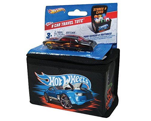 Neat-Oh Hot Wheels 9 Car Travel Tote with Car (Car Styles May Vary)