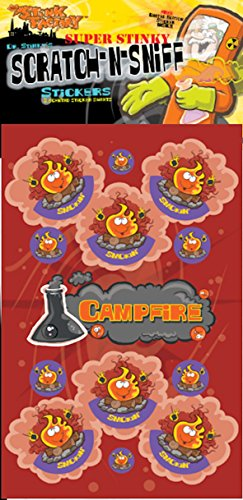 Scratch-N-Sniff Stickers- Campfire - 1