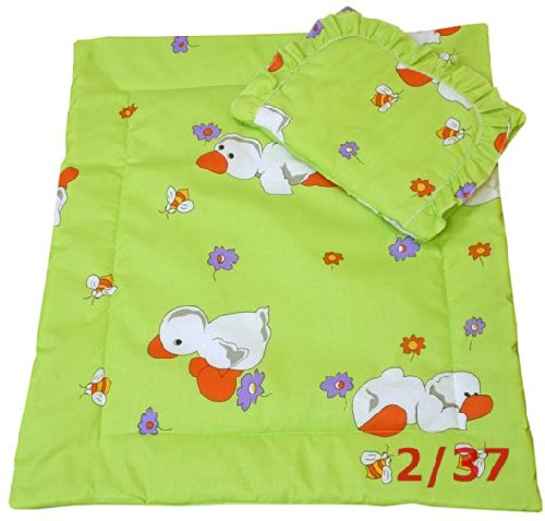 Ducks In Spring Bassinet / Stroller Bedding