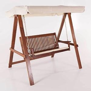 2 sitzer hollywoodschaukel aus holz. Black Bedroom Furniture Sets. Home Design Ideas