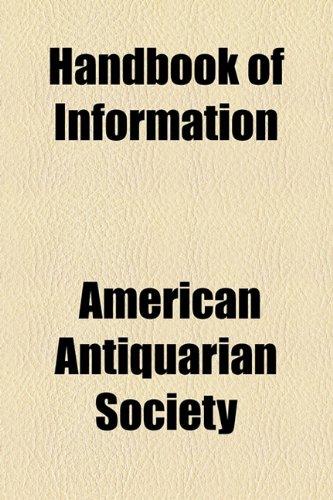 Handbook of Information