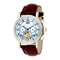 Pere de Temps Unisex 3030 Debut II Sophisticate Automatic Mechanical WatchStainless Steel with Exhibition Dial