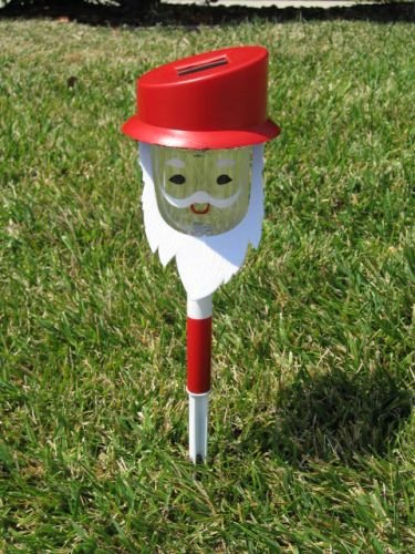 Santa Solar Path Lights Set of 2