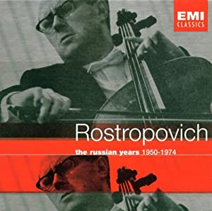 Rostropovich - The Russian Years 1950-1974 from EMI