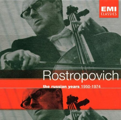 Rostropovich: The Russian Years, 1950-1974