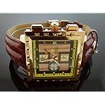 Aqua Master 40mm Square 20 Diamonds Rose Gold Square Watch At Aquacrown