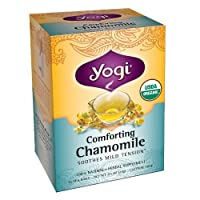 Comforting Chamomile Tea Yogi Teas 16 Tea Bag