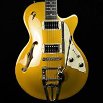 Duesenberg Starplayer TV - Gold Top with Case