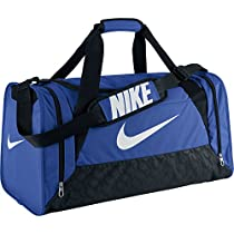 Nike Brasilia 6 Duffel Medium Game Royal/Black/White Size Medium