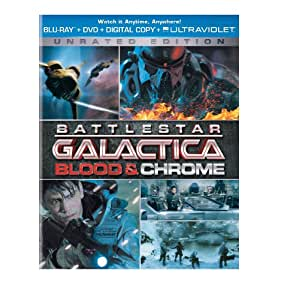 Battlestar Galactica: Blood & Chrome - Unrated Edition (Blu-ray + DVD + Digital Copy + UltraViolet)
