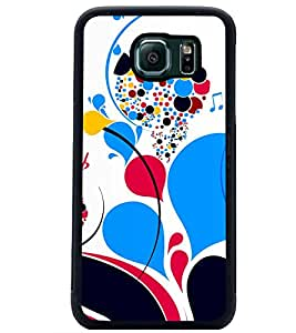 PRINTSWAG COLOURFUL PATTERN Designer Back Cover Case for SAMSUNG GALAXY S6 EDGE