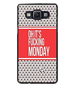 PrintDhaba Quote D-3832 Back Case Cover for SAMSUNG GALAXY E5 (Multi-Coloured)
