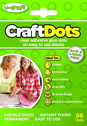 craft-dots-5-sheets-of-16-glue-dots-permanent-double-sided-sticky-adhesive-dots-for-creative-hobbies