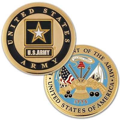 United StatesArmy Commemorative Challenge Coin