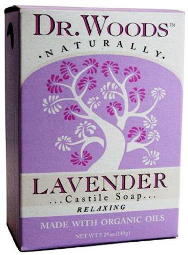 Dr. Woods - 100% Natural Castile Bar Soap Lavender - 5.25 oz