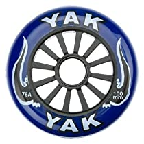 Yak Classic Pro High Performance Blue on Black 100mm