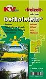 Ostholstein Kreiskarte: 1:60.000 Freizeitkarte incl. Radroutennetz, 29 aktuelle Themenrouten, Ostseeküstenradweg, Mönschweg, Holsteinische Schweiz (KVplan Schleswig-Holstein-Region)