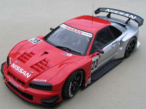 2003 nissan skyline gt r r34 jgtc test car 23 in 1 18 scale
