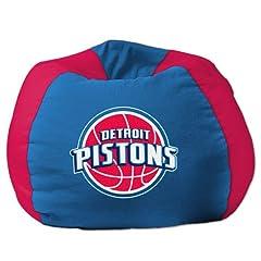 Detroit Pistons NBA Team Bean Bag (96 Round)