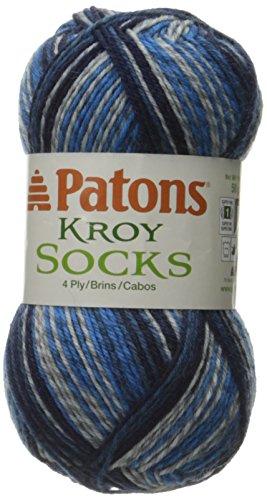 Spinrite Kroy Socks Yarn, Sing N The Blues