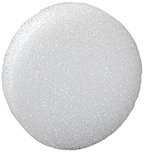 FloraCraft Styrofoam Disc, 5-7/8 by 1-3/16-Inch, White