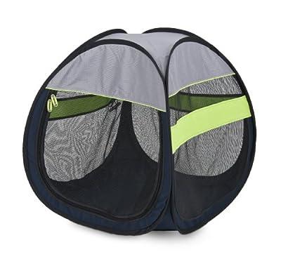 Petmate 25292 Pop-Up Pet Tent, Medium, Navy Blue