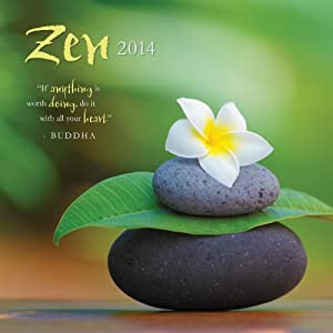Perfect Timing - Avalanche 2014 Zen Wall Calendar, 12 Month (Jan 2014- Dec 2014), 12 x 24 Inches opened (7001564)
