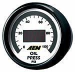 AEM 30-4401 0-100 PSI Oil or Fuel Pre...