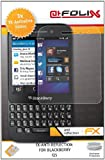 AtFoliX FX-Anti-Reflection Screen Protectors for Blackberry Q5 Non-Reflective Pack of 3