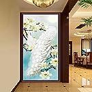 Oetech Rhinestone Mosaic Peacock Pattern 5D DIY Diamond Painting