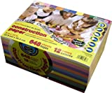 "Heavyweight Construction Paper: School Grade ~ 9"" X 12"" - (VALUE MEGA PACK 648 SHEETS)"