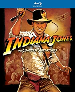 Indiana Jones: The Complete Adventures (Raiders of the Lost Ark / Temple of Doom / Last Crusade / Kingdom of the Crystal Skull) [Blu-ray] by Paramount