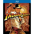 Indiana Jones: The Complete Adventures (Raiders of the Lost Ark / Temple of Doom / Last Crusade / Kingdom of the Crystal Skull) [Blu-ray]