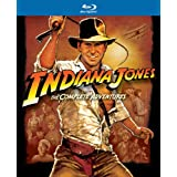 Indiana Jones: The Complete Adventures (Raiders of the Lost Ark / Temple of Doom / Last Crusade / Kingdom of the Crystal Skull) [Blu-ray] ~ Harrison Ford
