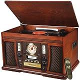 Innovative Technologies ITVS-750  The Aviator 5-In-1 Wooden Music Center