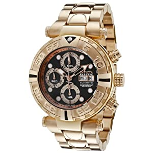 Invicta Men's 10486 Subaqua Noma I Automatic Chronograph 18k Rose Gold Ion-Plated Stainless Steel Watch