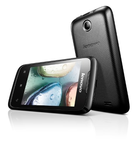 Lenovo A369i (Black, 4GB)