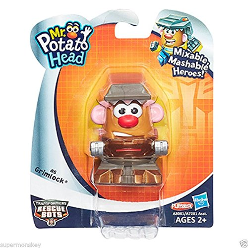Playskool Mr. Potato Head Transformers Mixable Mashable Heroes As Grimlock New front-882076