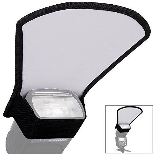 SUPON Flash Speedlite diffuser softbox silver/white reflector for Canon Nikon Pentax Yongnuo (Flash Cover compare prices)