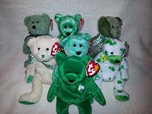 Ty Beanie Babies - Irish Bear Collection