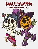 Halloween: Libro Da Colorare: 1-2