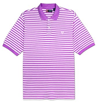 Chaps Big Mens Jamaica Bar Stripe Polo Shirt