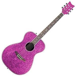 Daisy Rock Pixie Acoustic (Pink Sparkle)