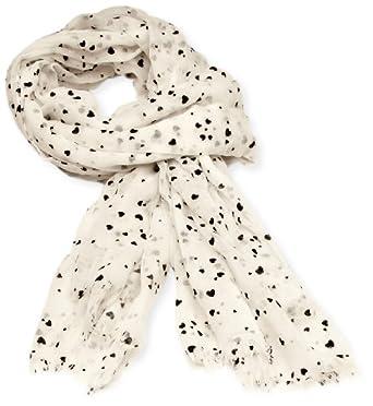 ESPRIT 123EA1Q007 Women's Scarf Vanilla White One Size